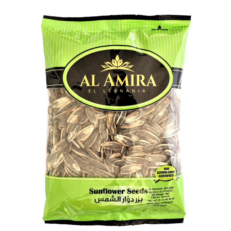 Al Amira Tokhme Aftabgardan -  Roasted Sunflower Seeds 150g