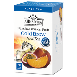 Ahmad Tea - Pfirsich & Maracuja Cold Brew Iced Tea - 20...