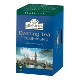 AhmadTea - Evening Tea Decaffeinated - 20 FOIL Teabags