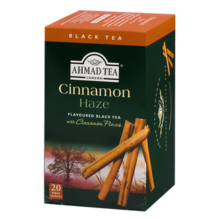 Ahmad Tea - Cinnamon Haze Tea - 20 FOIL Teabags