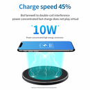 Qi 10W Fast Wireless Charger, Charging Station for iPhone, Samsung and Huawei