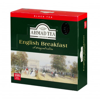 Ahmad Tea - English Breakfast - 100 FOLIEN Teebeutel