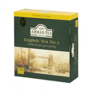 Ahmad Tea - English Tea No.1 - 100 FOIL Teabags