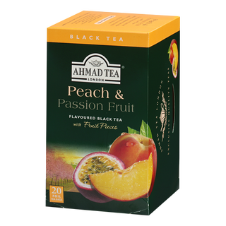 Ahmad Tea - Peach & Passion Fruit Tea - 20 FOLIEN Teebeutel