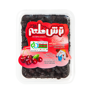 Torsh Taem Albaloo Khoshk - Dried sour cherries with...