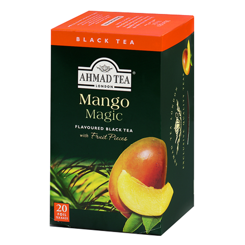 Ahmad Tea - Mango Magic Tea - 20 FOILIEN Teebeutel