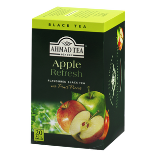 Ahmad Tea - Apple Refresh Tea - 20 FOIL Teabags