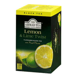 Ahmad Tea - Lemon & Lime Twist Tea - 20 FOIL Teabags