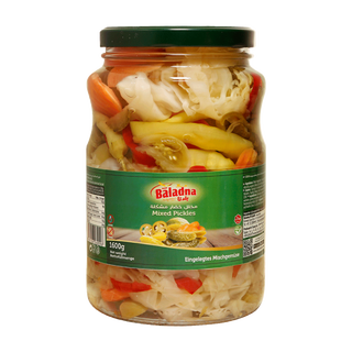 Baladna Shoor Makhloot - Pickled mixed vegetables in...
