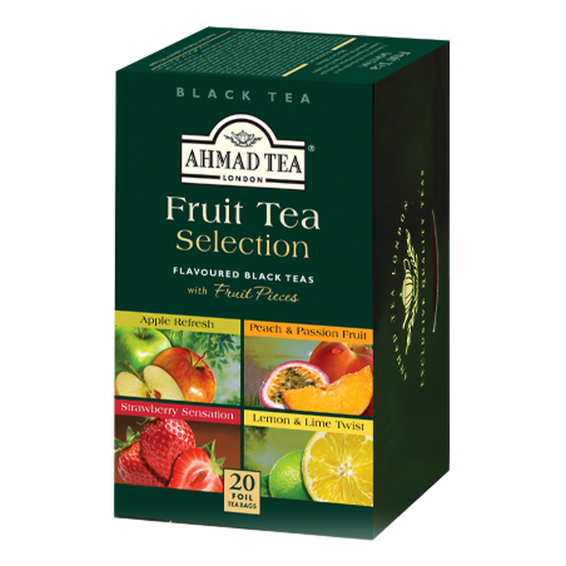 Ahmad Tea - Fruit Tea Selection - 20 FOILIEN Teebeutel