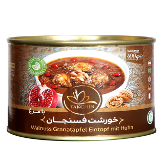 Takchin Khoreshte Fesenjan ba Morgh - Walnut Pomegranate...