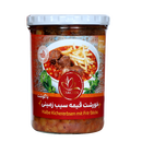 Takchin Khoresht Gheimeh Sibzamini ba Gushte booghalamoon - Yellow Pea Stew with turkey meat- Ready Meal 400g