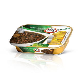 1&1 Khoreshte Ghormeh Sabzi -7 herb stew ready meal  285g