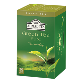 Ahmad Tea - Green Tea Pure - 20 FOIL Teabags
