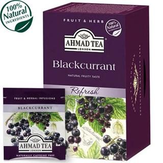 Ahmad Tea - Blackcurrant Tea - 20 FOLIEN Teebeutel