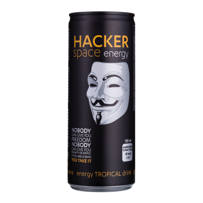 HACKER Space Tropical Energy Drink 250ml