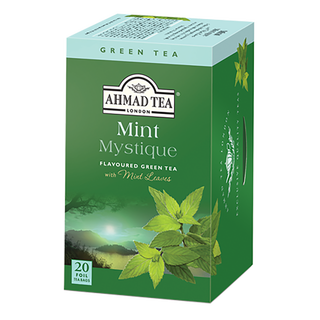 Ahmad Tea - Mint Mystique Green Tea - 20 FOIL Teabags