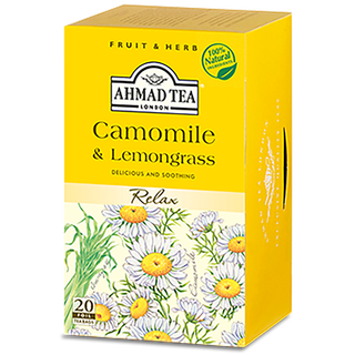 Ahmad Tea - Camomile & Lemongrass Herbal Infusion Tea -...