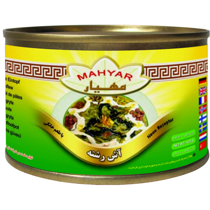 Mahyar Ashe Reshteh - Noodle Soup with Herbs and Legumes Ready Meal 450g