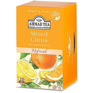 Ahmad Tea - Mixed Citrus Tea - 20 FOIL Teabags