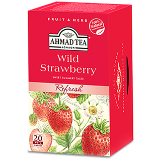 Ahmad Tea - Wild Strawberry Tea - 20 FOLIEN Teebeutel
