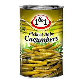 1&1 Khiarshoor - Pickled Baby Cucumbers 4000g