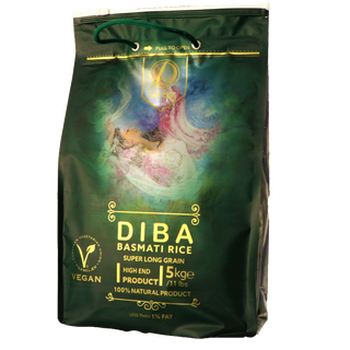 DIBA Basmati Rice, Traditional 5kg