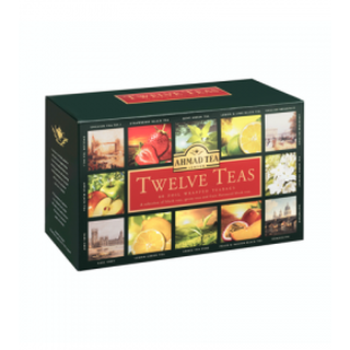 Ahmad Tea - Twelve Teas 12x5 Foil Teabags