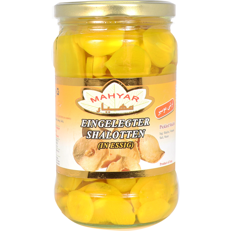Mahyar Torshi Moosir - Pickled Wild Garlic 650g