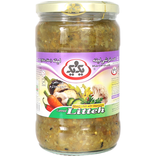 1&1 Torshi Lite - Chopped Pickled Vegetables, Sauer  630g