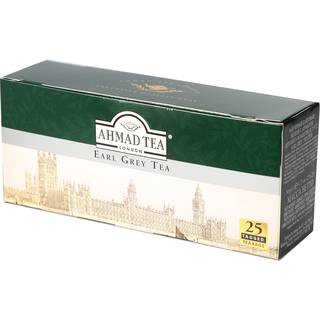Ahmad Tea - Aromatic Earl Grey Tea - 25 Tagged Teabags