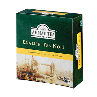 Ahmad Tea - English Tea No.1 - 100 Tagged Teabags