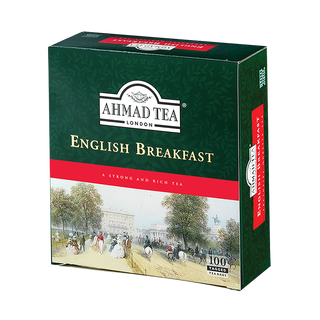 Ahmad Tea - English Breakfast - 100 Teebeutel mit Band