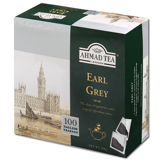 Ahmad Tea -  Aromatic Earl Grey - 100 Tagless Teabags