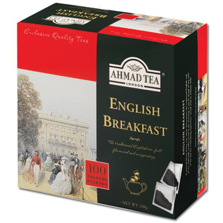 Ahmad Tea - English Breakfast - 100 Tagless Teabags