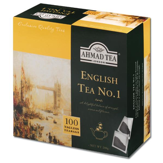 Ahmad Tea - English Tea No.1 - 100 Tagless Teabags