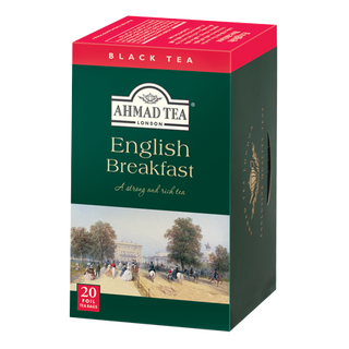 Ahmad Tea - English Breakfast Tea - 20 FOIL Teabags