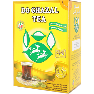 Do Ghazal (Alghazaleen) - Cardamom Tea - 500g Loose Tea