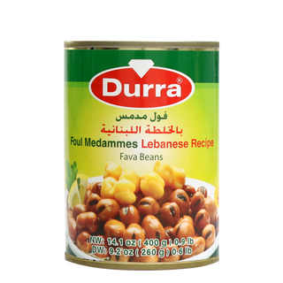 Durra Foul Modammes with Lebanese Recipe - Cooked Fava...