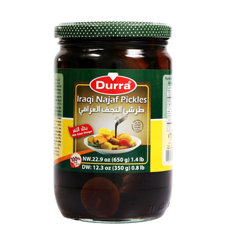 Durra Iraqi Najaf Pickled with Vinegar 650g