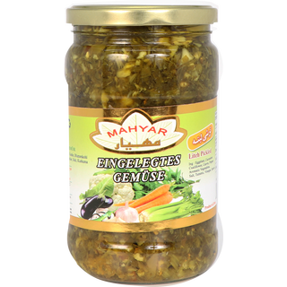 Mahyar Torshi Lite - Pickled Vegetables,Sauer 680g