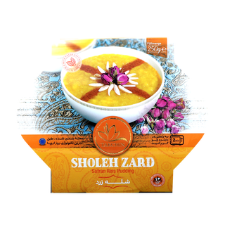 Takchin Shole Zard - Saffron Rice Pudding Ready Meal...