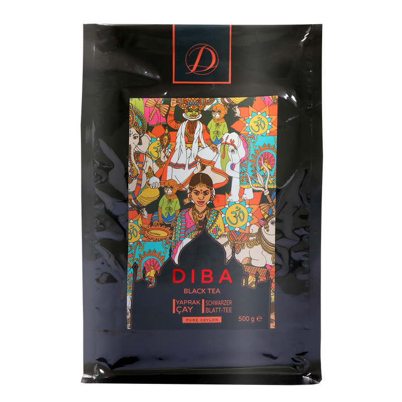 Diba Tea - Ceylon Black Tea -  500g Loose Tea