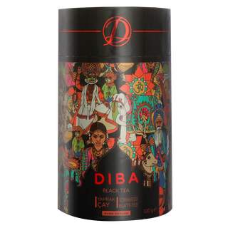 Diba Tea - Ceylon Black Tea - Loose Tea 100g Tea Canister