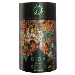 Diba Tea - Ceylon Tea with  real Cardamom  - Loose Tea...